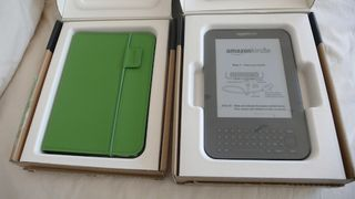 Kindle + case for web