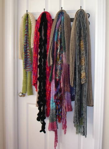 Scarves_on_door